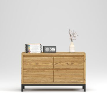 Oxford chest 4 drawers - Фото №20-0020
