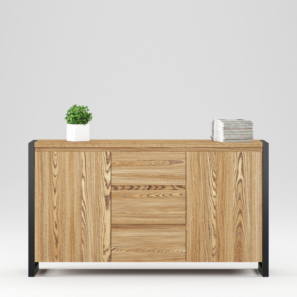 Cambridge sideboard 2 doors, 3 drawers - Фото №1