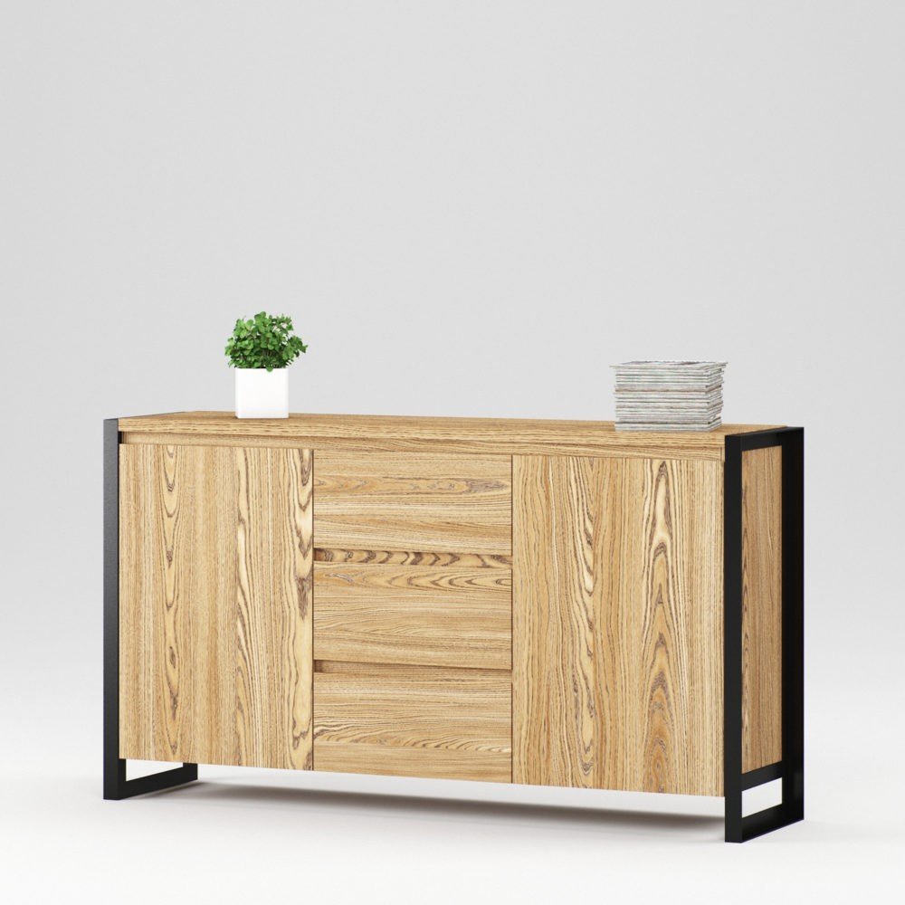 Cambridge sideboard 2 doors, 3 drawers - Фото №2