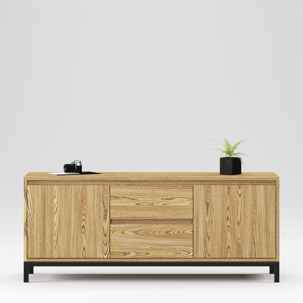 Oxford chest 2 doors and 2 drawers - Фото №1
