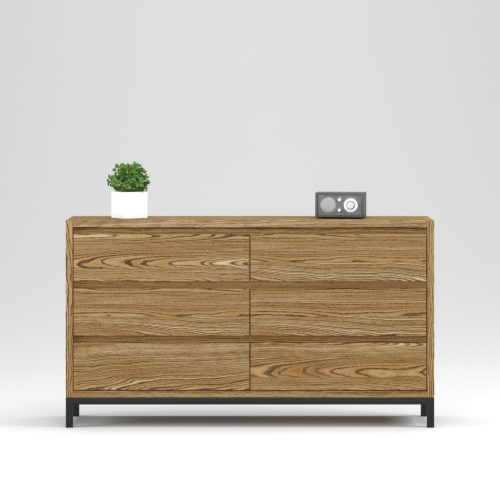 Oxford chest 6 drawers - Фото №20-0026