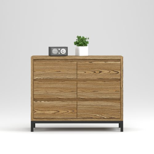 Oxford chest 6 drawers - Фото №20-0027