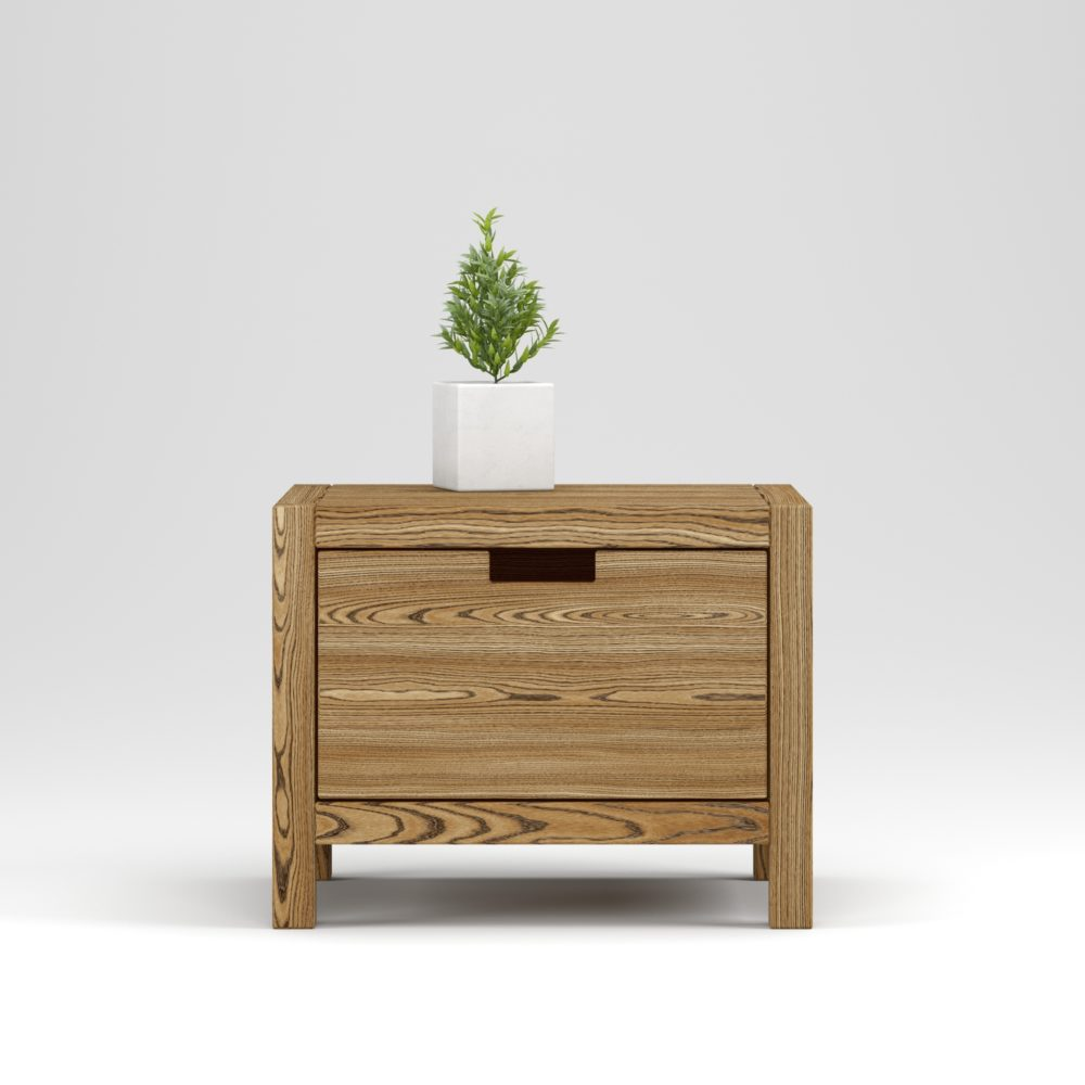 Bedside table Assen 1 drawer - Фото №1