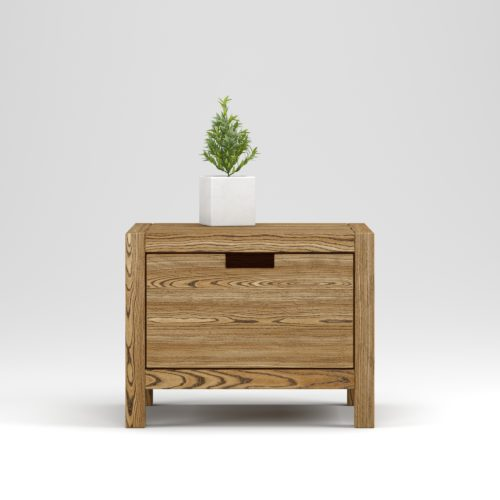 Bedside table Assen 1 drawer - Фото №23-0018