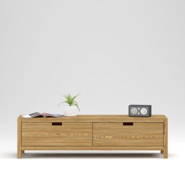 Media Stand Assen 2 drawers - Фото №24-0030