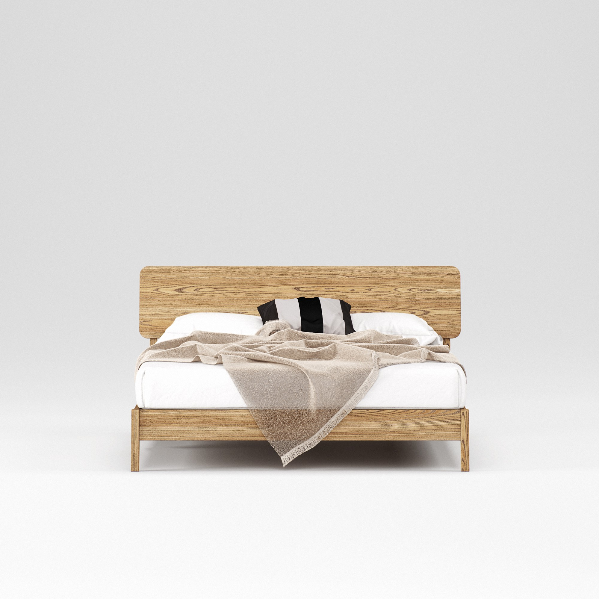 Double wooden bed Norwich 160×200 - Фото №3