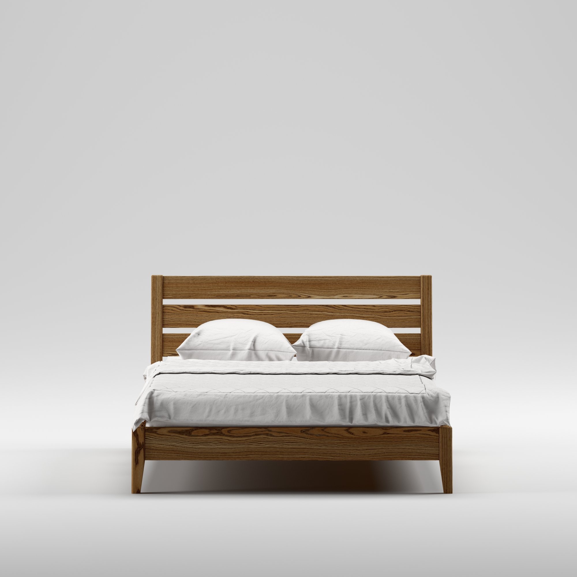 Double wooden bed Omis 140×200 - Фото №2