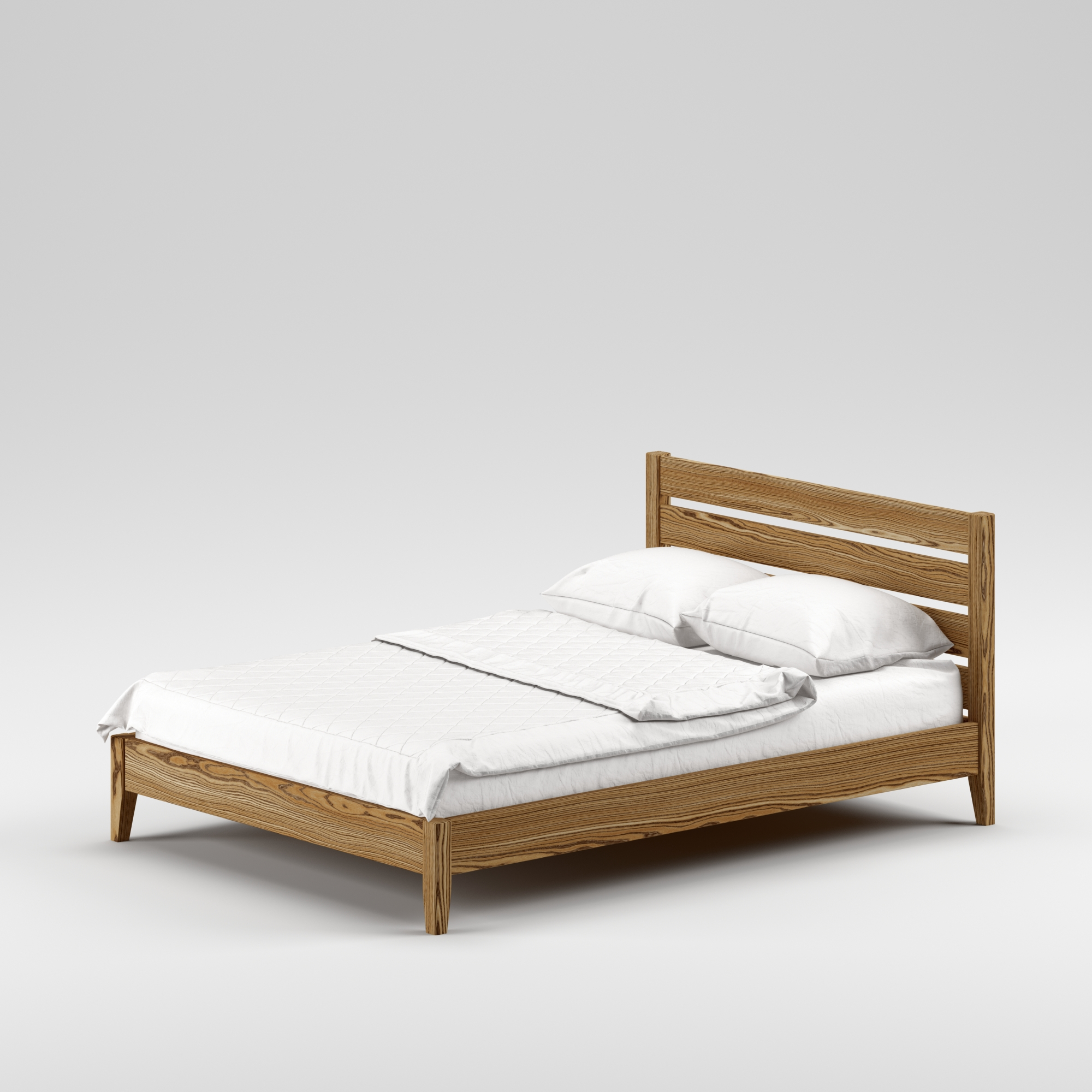 Double wooden bed Omis 140×200 - Фото №3