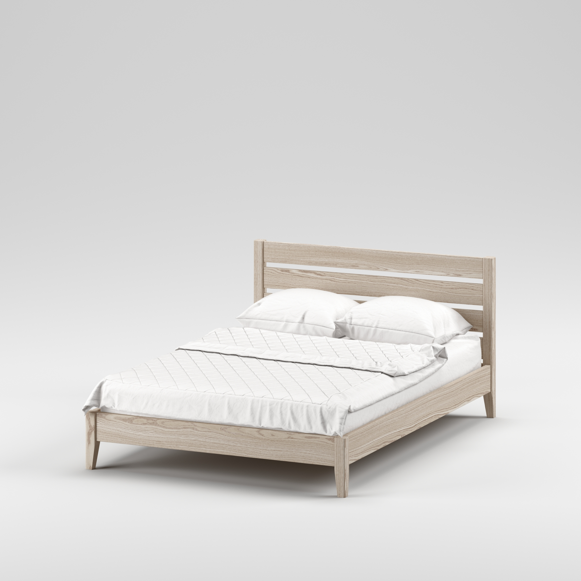 Double wooden bed Omis 140×200 - Фото №7