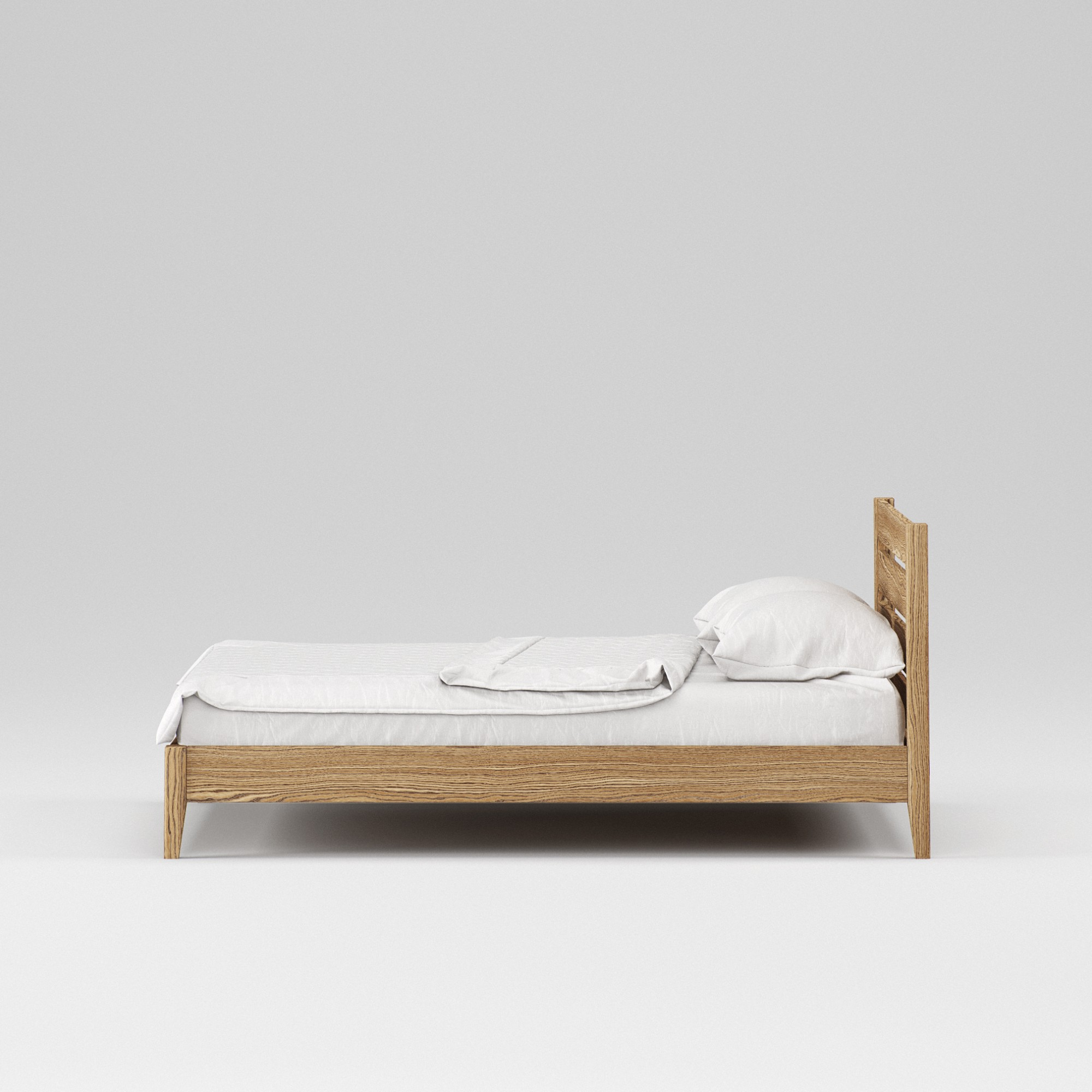 Double wooden bed Omis 160×200 - Фото №2