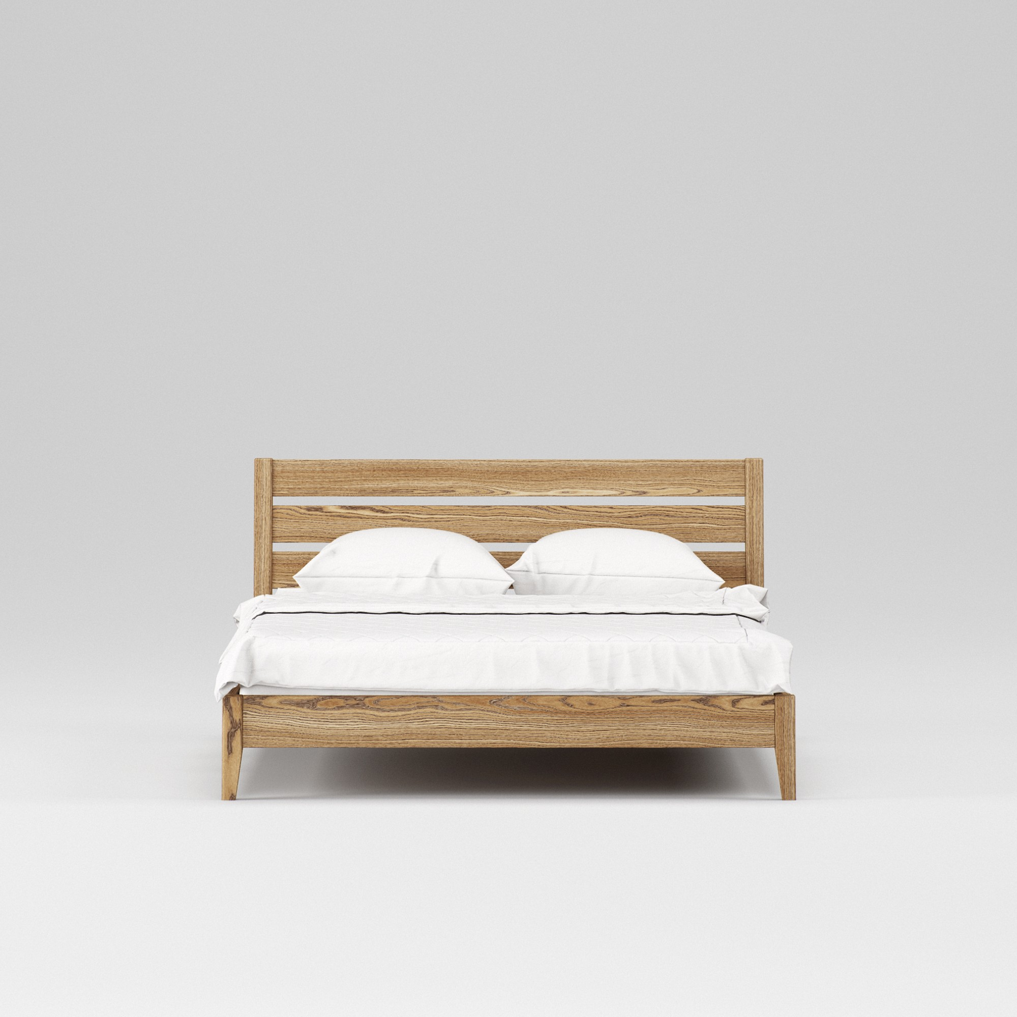 Double wooden bed Omis 160×200 - Фото №3