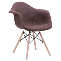 Soft chair like Eames – brown - Фото №1