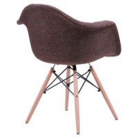 Soft chair like Eames – brown - Фото №3