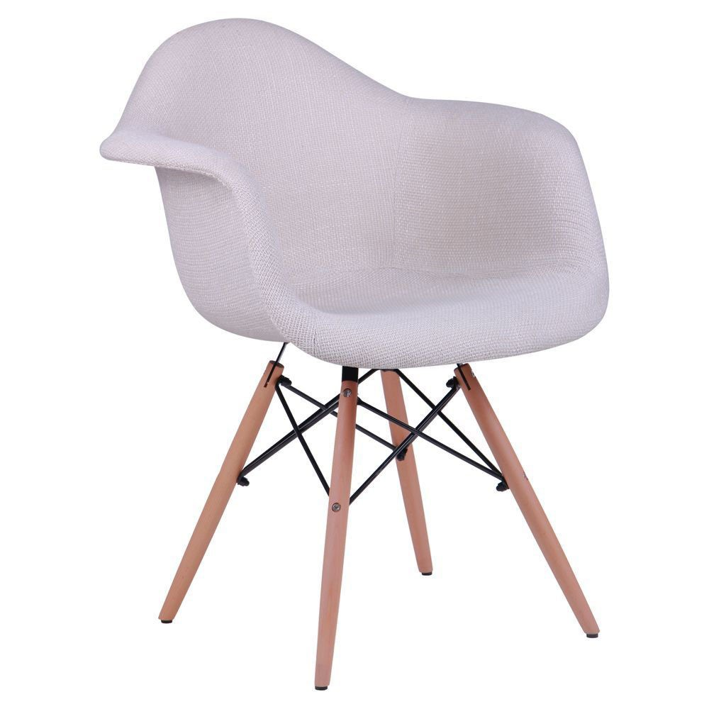 Soft chair like Eames – beige - Фото №1