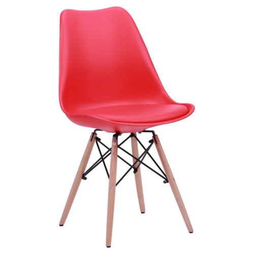 Soft chair like Eames – red - Фото №1
