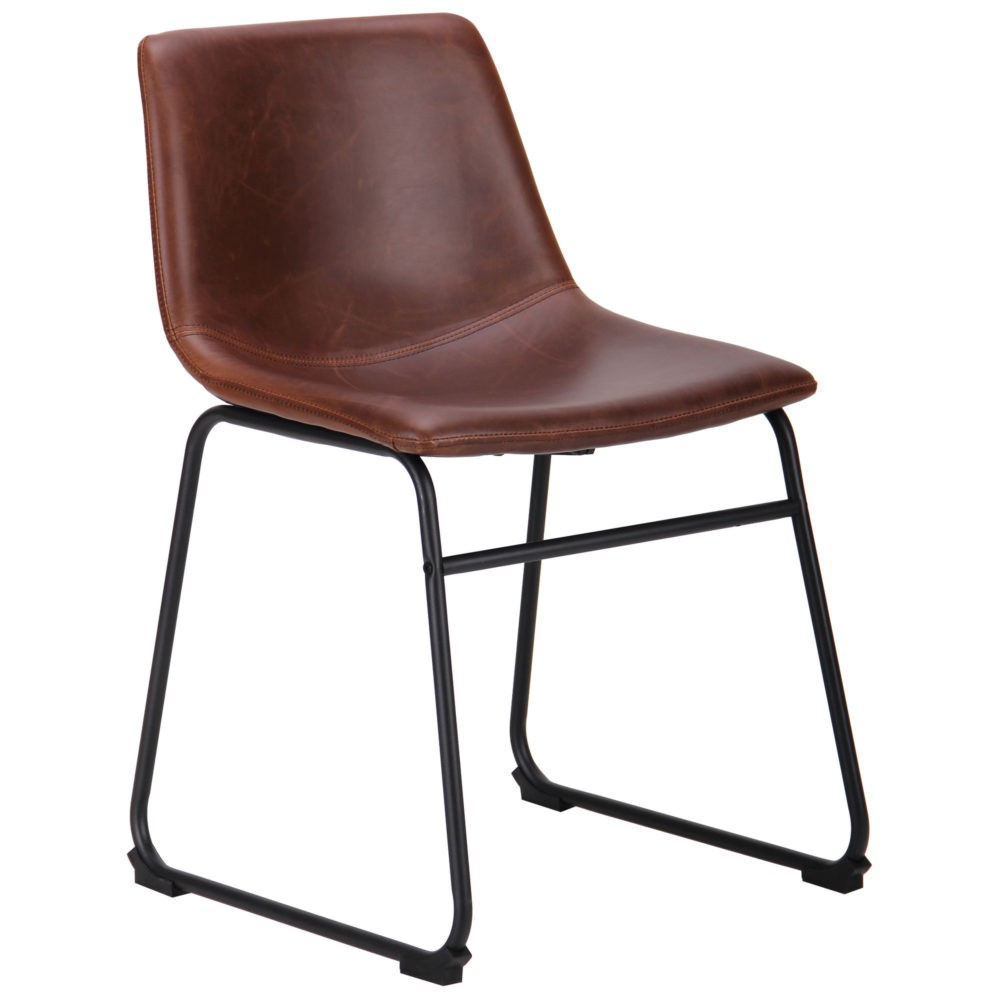 Alabama chair – chestnut – fauxleather - Фото №1