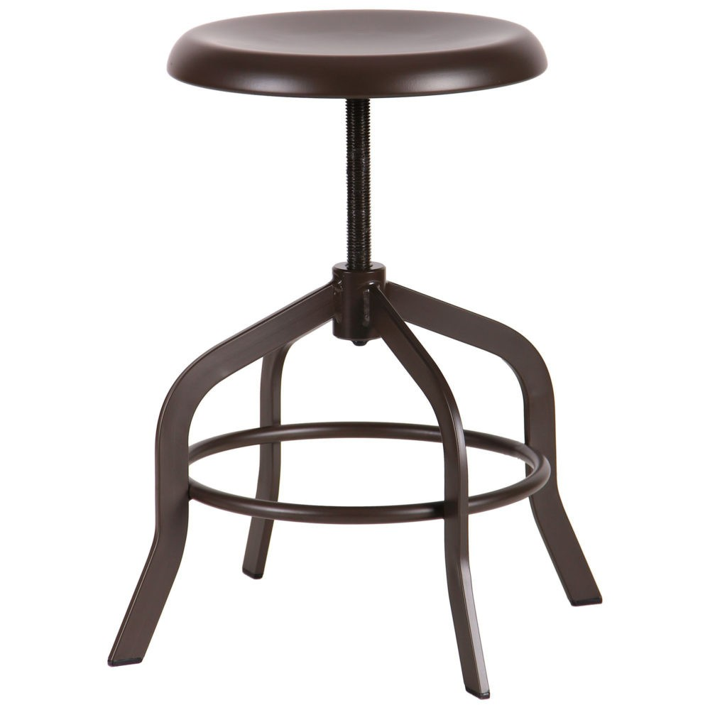 Utah adjustable stool - Фото №2